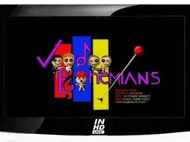 Voodoo Bohemians CD cover artwork