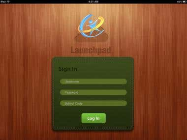 Lauchpad for iPad