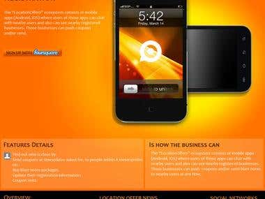 Mobile Services Website