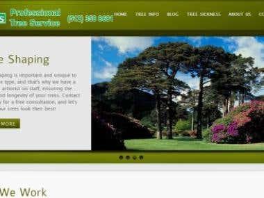 Jc's Tree Services Web Design