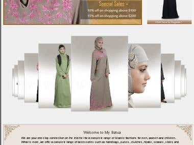 Online Products Islamic fashions - Magento, PHP