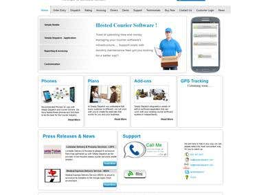 Simply Dispatch Official Website (Joomla)
