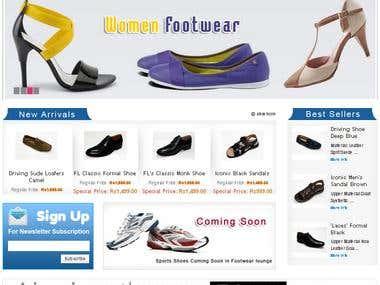 Online Footwear website - Zend , PHP