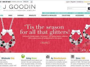 Jgoodin CMS & online Store
