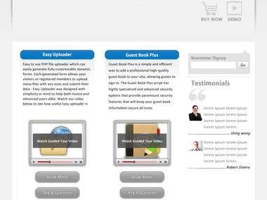 Website Designs, Landing Pages, Sales Pages