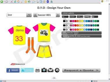 designer for uniforms