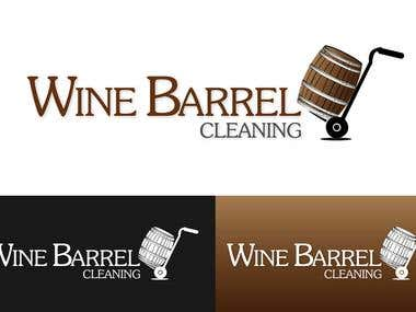 LOGO for Wine Barrel Cleaning