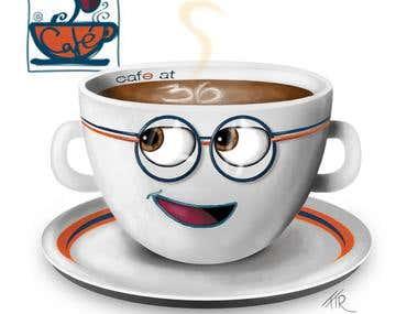 Cafe at 36 mascot