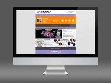 Renewal of a website design