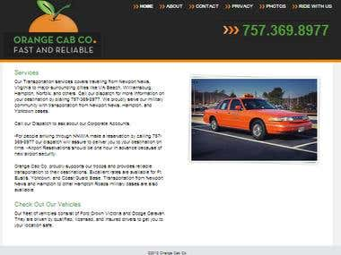 Cab website