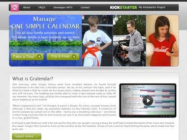 Gralendar Website