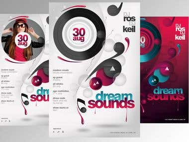 Flyer Design Dream Sounds