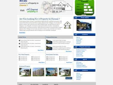 Real Estate Based Websites