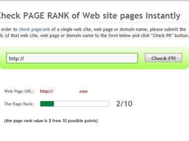 Increased Website Pagerank