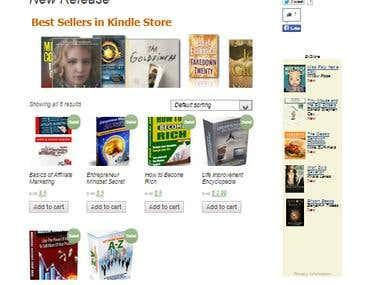 e-Book Online Store