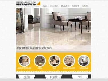 Eronc Tile Website
