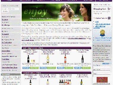 Wineries Website