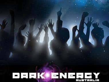 Dark Energy website design
