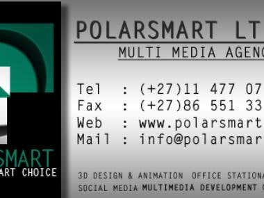 Business card for PolarSmart