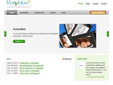 Raybbo Site