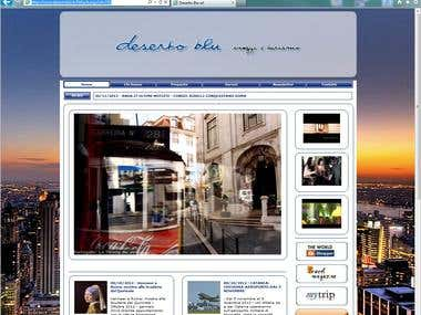 Travel Agency website with e-commerce