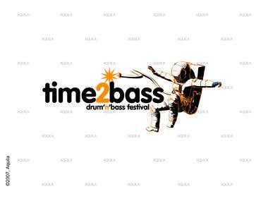 Logo for Drum'n'Bass Festival