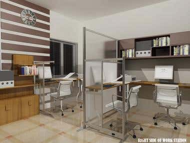 Office Design for Mr. Robert @ United Kingdom