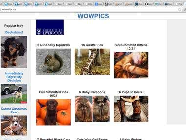 wowpics.us : image gallery site