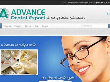 Advanced Dental Export Website