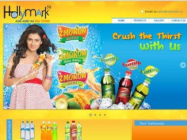 Soft drinks website