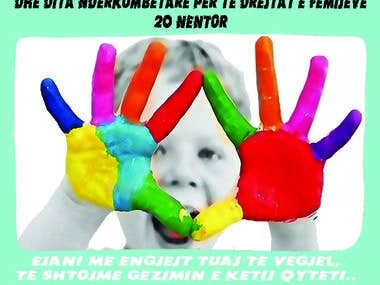 Flyer for 19-20 November Children Rights and banner