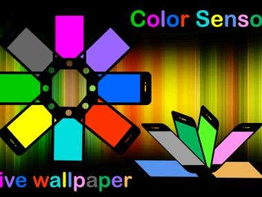 Color Sensor Live Wallpaper