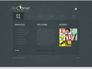 Net commet Software Development Website