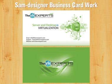 Sam Business card Works