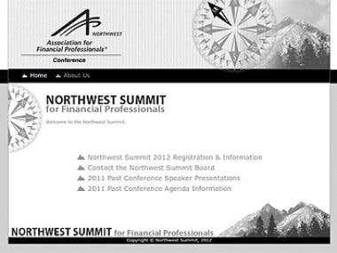 Northwestern Summit Web Site