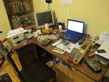 Electronics Engineer Workplace