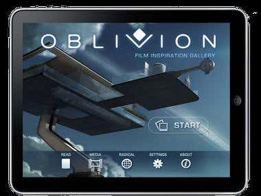 Oblivion (Official Motion Picture) iPhone and iPad App