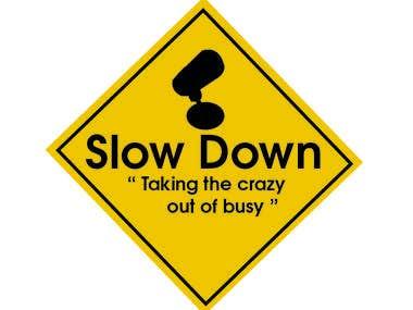 logo Slow down