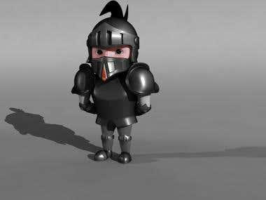 3d character for game