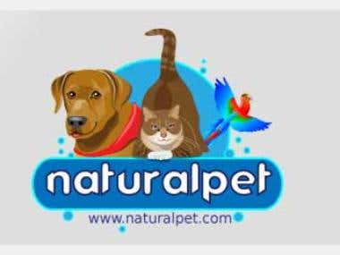 NaturalPet Logo Design