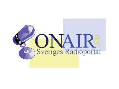 on air logo