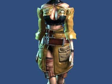 3D nextGen mobile characters.