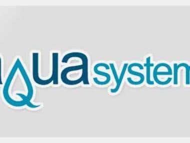 Aqua Syatems Logo Design