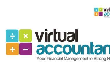 Virtual Accountant Logo