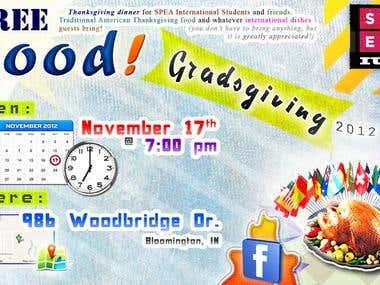 Gradsgiving: 2012