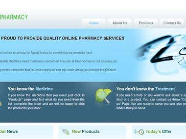 E-Pharmacy Website