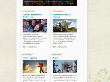 Skautsky Radce - blog for Scout Group