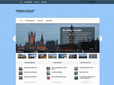 Travel information website
