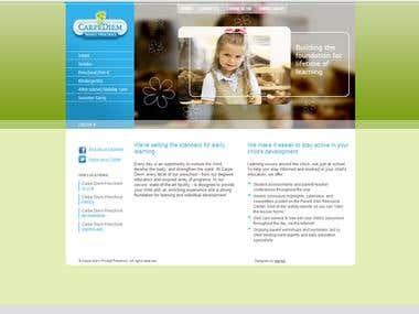 Carpediem Private School Website