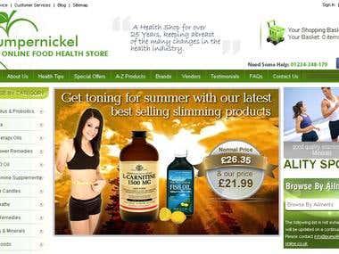 Pumpernickel - Online Health Food Store